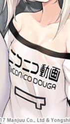 【アズレン】綾波スキンは服のニコニコ動画って文字がなければ完璧だった