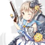 【アズレン】艦船紹介「駆逐艦 マスケティーア」マスケちゃんの左手に持ってるこれは一体…?
